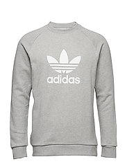 Trefoil Warm-Up Crew Sweatshirt - MGREYH