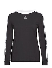 3 STRIPES LS - BLACK