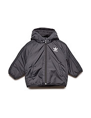 TREFOIL JACKET - BLACK/WHITE
