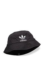 BUCKET HAT AC - BLACK/WHITE