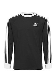 3-STRIPES LS T - BLACK