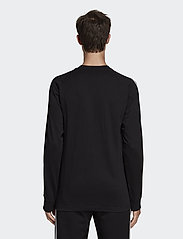 adidas Originals - 3-STRIPES LS T - langarmshirts - black - 3