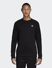 adidas Originals - ESSENTIAL CREW - overdeler - black - 0
