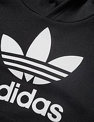 adidas Originals - TREFOIL HOODIE - kapuzenpullover - black/white - 2