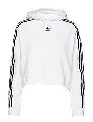 CROPPED HOODIE - WHITE