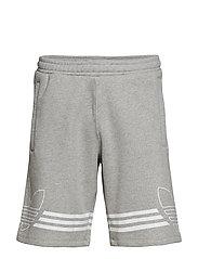 Outline Trf Sh Shorts Casual Grå ADIDAS ORIGINALS