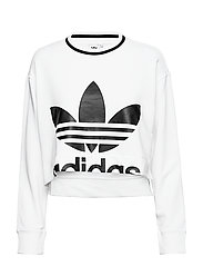 CROPPED SWEATER - WHITE