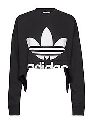 CUT-OUT SWEATER - BLACK