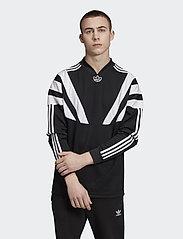 adidas Originals - BLNT 96 LS JSY - football shirts - black - 0