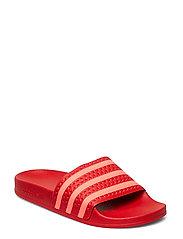 Adilette W Sandaler Pool Sliders Slip In Röd ADIDAS ORIGINALS