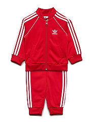 SUPERSTAR SUIT - SCARLE/WHITE