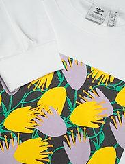 adidas Originals - GRAPHIC SWEATER - svetarit - white - 2