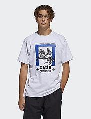 adidas Originals - CLUBPILLARSTEE - sportstopper - lgreyh - 0