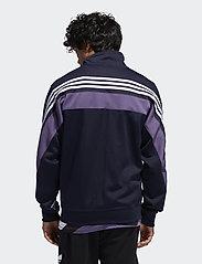 adidas Originals - 3STRIPE WRAP TT - track jackets - legink/white - 5