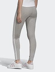 adidas Originals - 3 STRIPES TIGHT - running & training tights - mgreyh/white - 5
