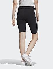 adidas Originals - SHORT TIGHTS - träningsshorts - black/white - 4