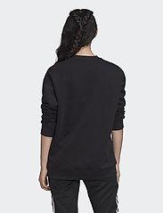 adidas Originals - Trefoil Crew Sweatshirt W - sweatshirts - black/white - 3