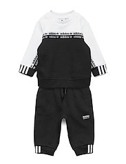 CREW SET - BLACK/WHITE