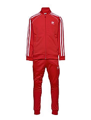 SUPERSTAR SUIT - LUSRED/WHITE