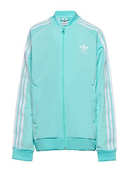 SUPERSTAR TOP - CLAQUA/WHITE