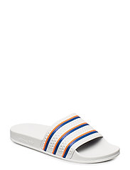 ADILETTE - FTWWHT/BLUE/SOLRED