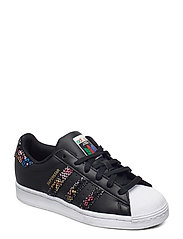 SUPERSTAR W - CBLACK/FTWWHT/RED