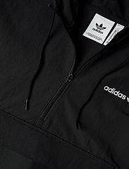 adidas Originals - CLASSICS ANORAK - anoraks - black/white - 2