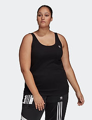 adidas Originals - TANK TOP - sporttoppar - black/white - 0