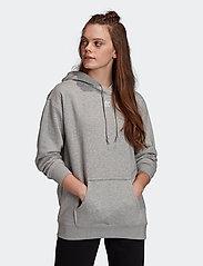 adidas Originals - HOODIE - hupparit - mgreyh - 0