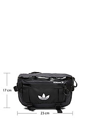 adidas Originals - ADV WAISTBAG L - midjeveske - black/white - 5