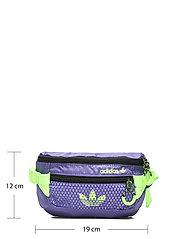 adidas Originals - ADV WAISTBAG S - midjeveske - purple/black/siggnr - 5