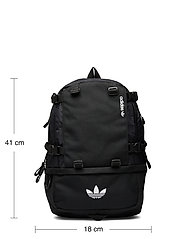 adidas Originals - Adventure Cordura Backpack - sportsbagger - black/white - 4
