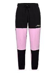 Adventure Polar Fleece Colorblock Sweat Pants - CLELIL/BLACK