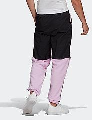 adidas Originals - Adventure Polar Fleece Colorblock Sweat Pants - treenihousut - clelil/black - 3