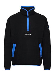 Adventure Polar Fleece Half-Zip Sweatshirt - BLACK
