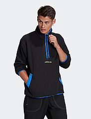 adidas Originals - Adventure Polar Fleece Half-Zip Sweatshirt - basic-sweatshirts - black - 0