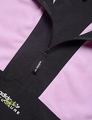 adidas Originals - Adventure Polar Fleece Colorblock Half-Zip Jacket - basic-sweatshirts - clelil/black - 4