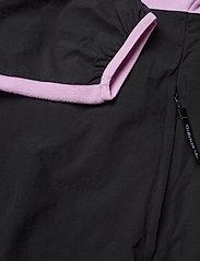 adidas Originals - Adventure Polar Fleece Colorblock Half-Zip Jacket - basic-sweatshirts - clelil/black - 5