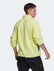 adidas Originals - Adventure Polar Fleece Half-Zip Sweatshirt - podstawowe bluzy - sefrye - 4