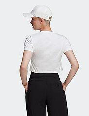 adidas Originals - Adicolor Classics Roll-Up Sleeve Crop Top W - crop tops - white - 3