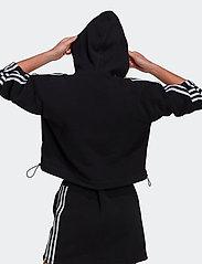 adidas Originals - Adicolor Classics Polar Fleece Full-Zip Hoodie W - fleece - black - 4