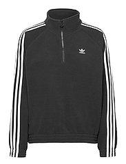 Adicolor Classics Polar Fleece Half-Zip Sweatshirt W - BLACK