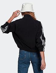 adidas Originals - Adicolor Classics Polar Fleece Half-Zip Sweatshirt W - fleece - black - 3