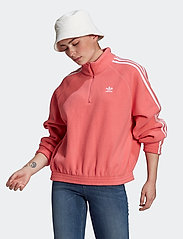 adidas Originals - Adicolor Classics Polar Fleece Half-Zip Sweatshirt W - fleece - hazros - 0