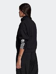 adidas Originals - Adicolor 3D Trefoil Track Jacket W - sweatshirts - black - 3