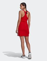 adidas Originals - Adicolor Classics Racerback Dress W - bodycon jurken - scarle - 3