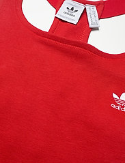 adidas Originals - Adicolor Classics Racerback Dress W - bodycon jurken - scarle - 4