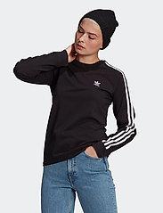 adidas Originals - Adicolor Classics Long Sleeve T-Shirt W - langærmede toppe - black - 0