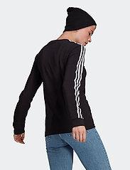 adidas Originals - Adicolor Classics Long Sleeve T-Shirt W - langærmede toppe - black - 3