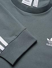 adidas Originals - Adicolor Classics Long Sleeve T-Shirt W - langærmede toppe - bluoxi - 4